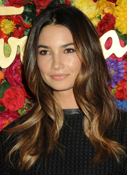 Lily Aldridge has the most-requested ombre' & Stylist Tracey Cunningham uses Redken to create her look.