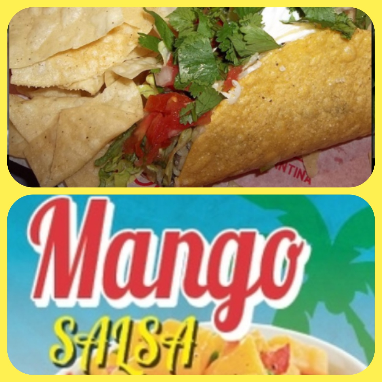 Fish tacos with mango salsa are a Friday must!