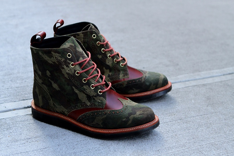 An amazing twist on the classic Dr. Marten boot.