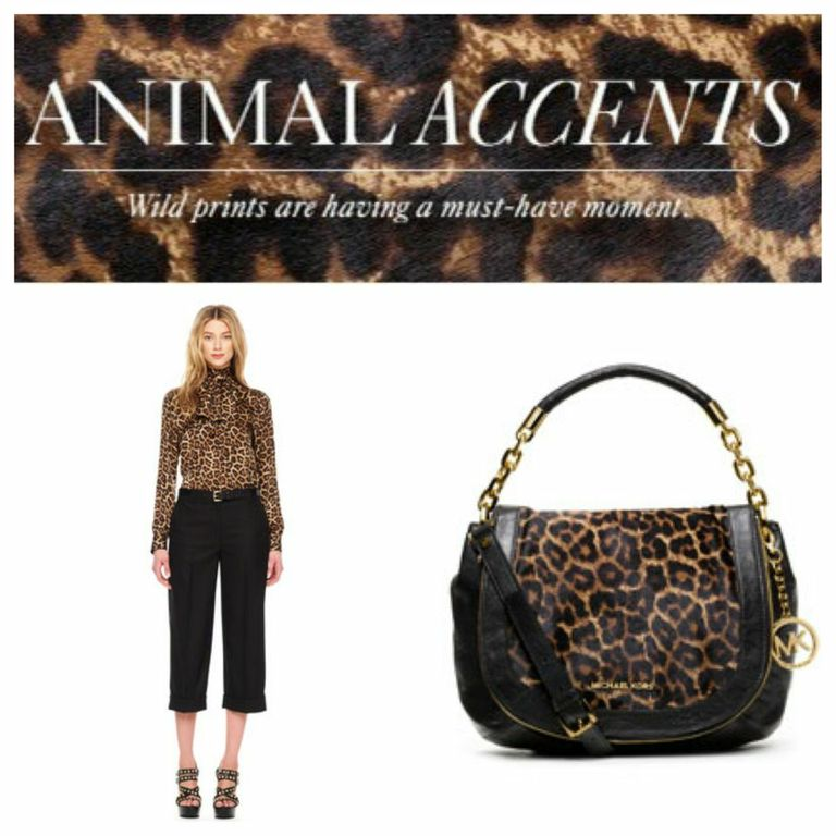 A girl can never have  too  much animal print!