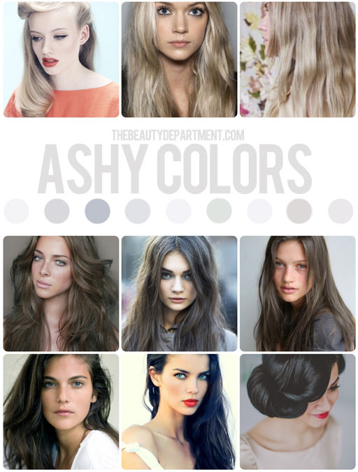 Ash tones are the coolest of cool & not for the faint of heart.