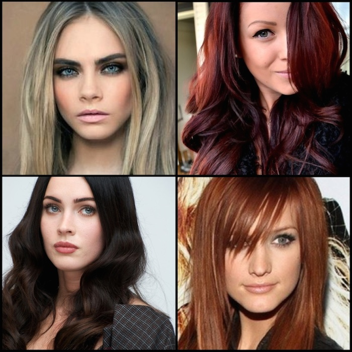 The Best Hair Color For Your Skin Tone Fall Lookbook Pageboy Salon