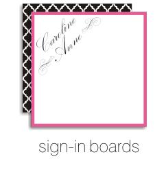 shop bat mitzvah sign in boards