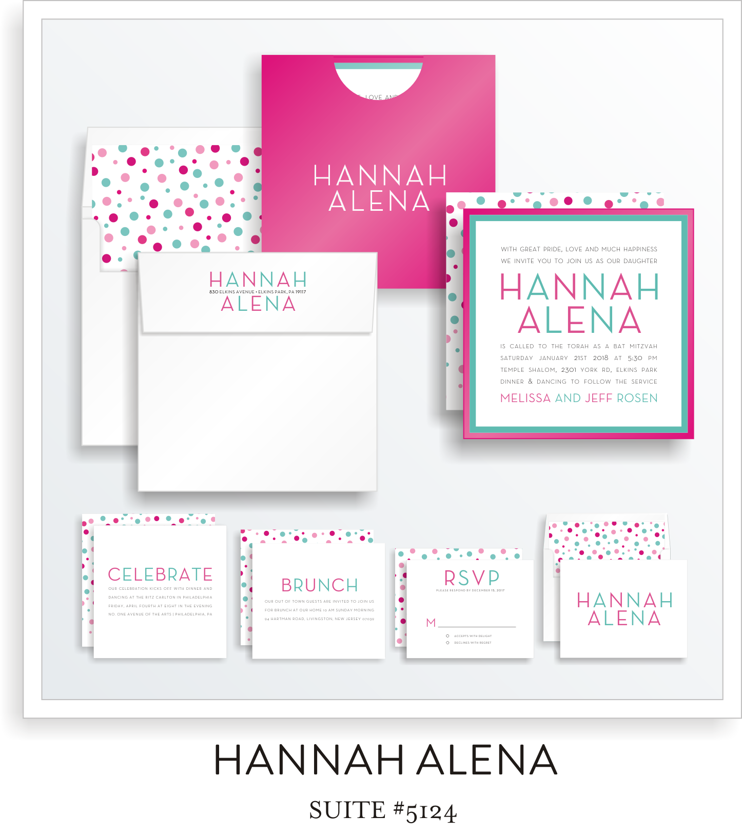Copy of bat mitzvah invitations 5124