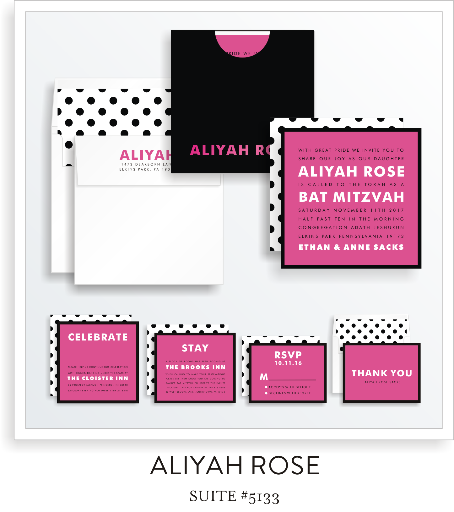 Copy of bat mitzvah invitations 5133
