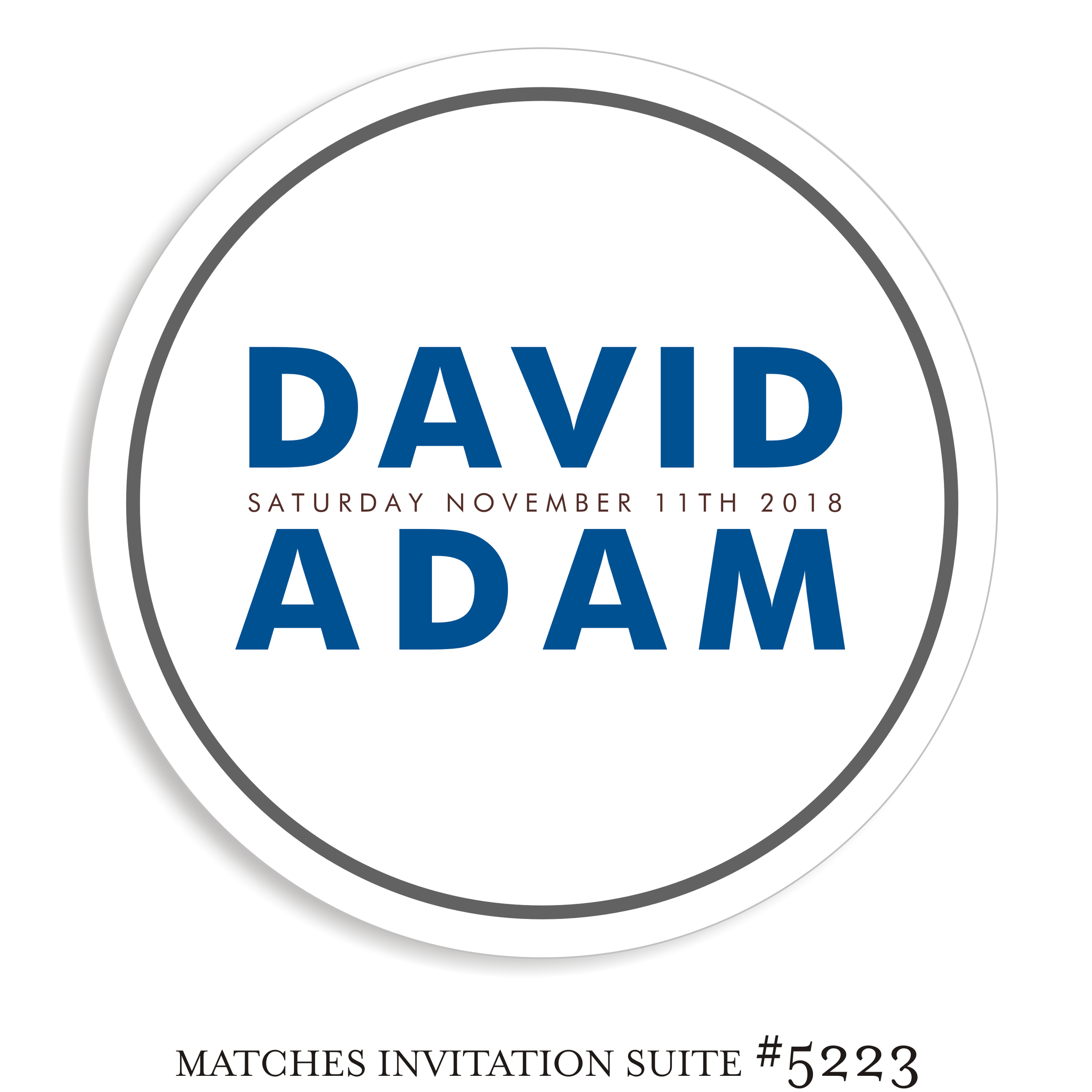 Dancefloor Decal Bar Mitzvah Suite 5223 - David Adam