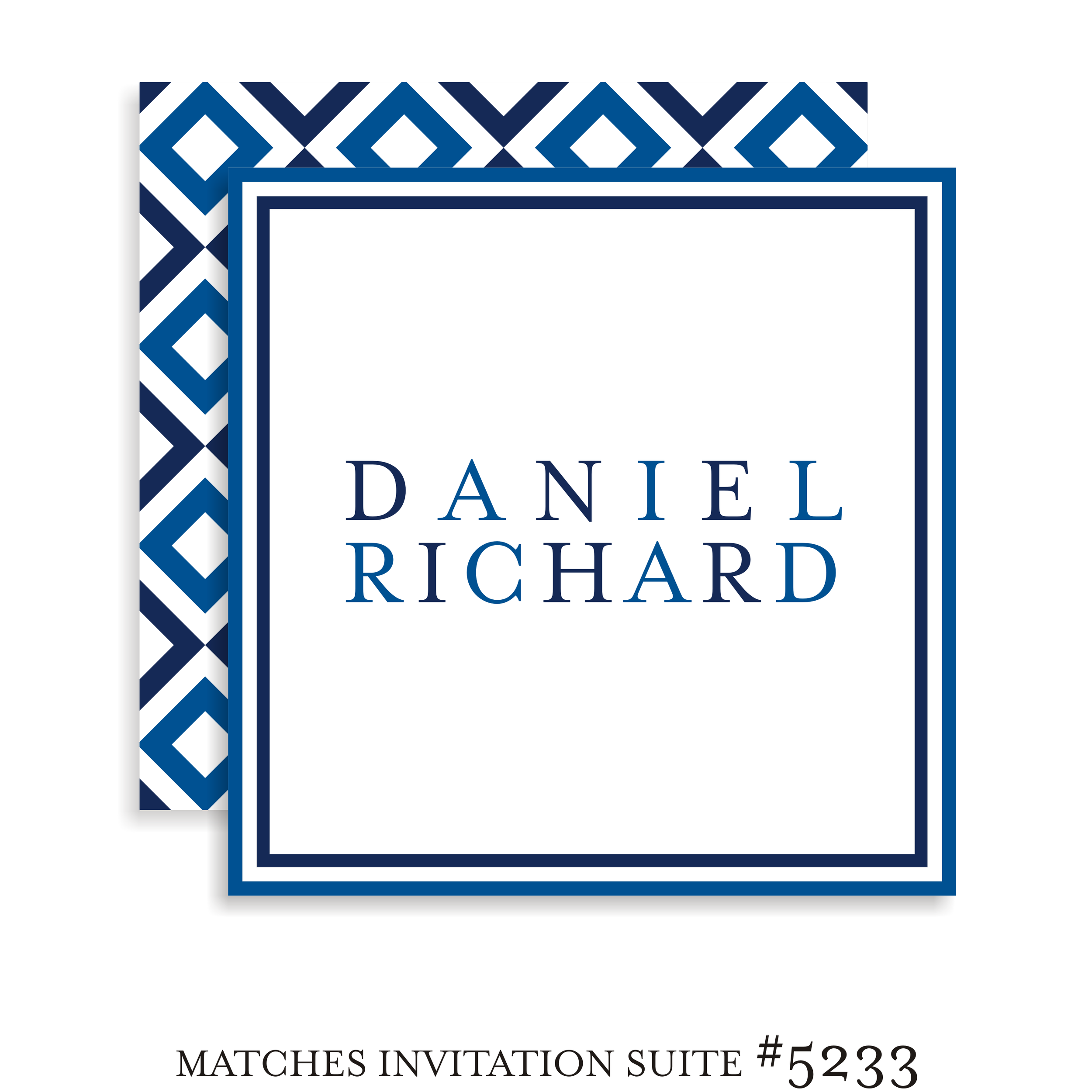 Sign In Board Bar Mitzvah Suite 5233 - Daniel Richard