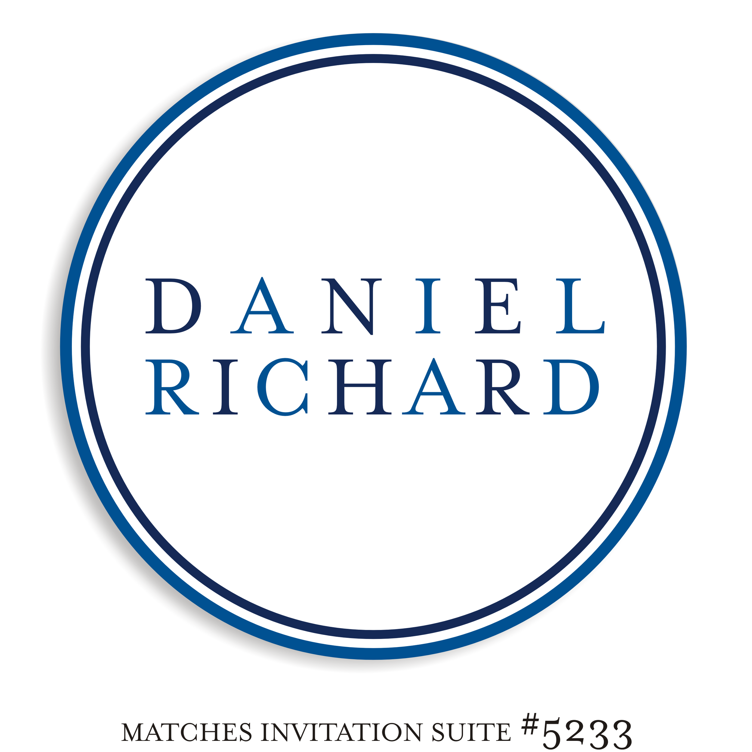 Dancefloor Decal Bar Mitzvah Suite 5233 - Daniel Richard