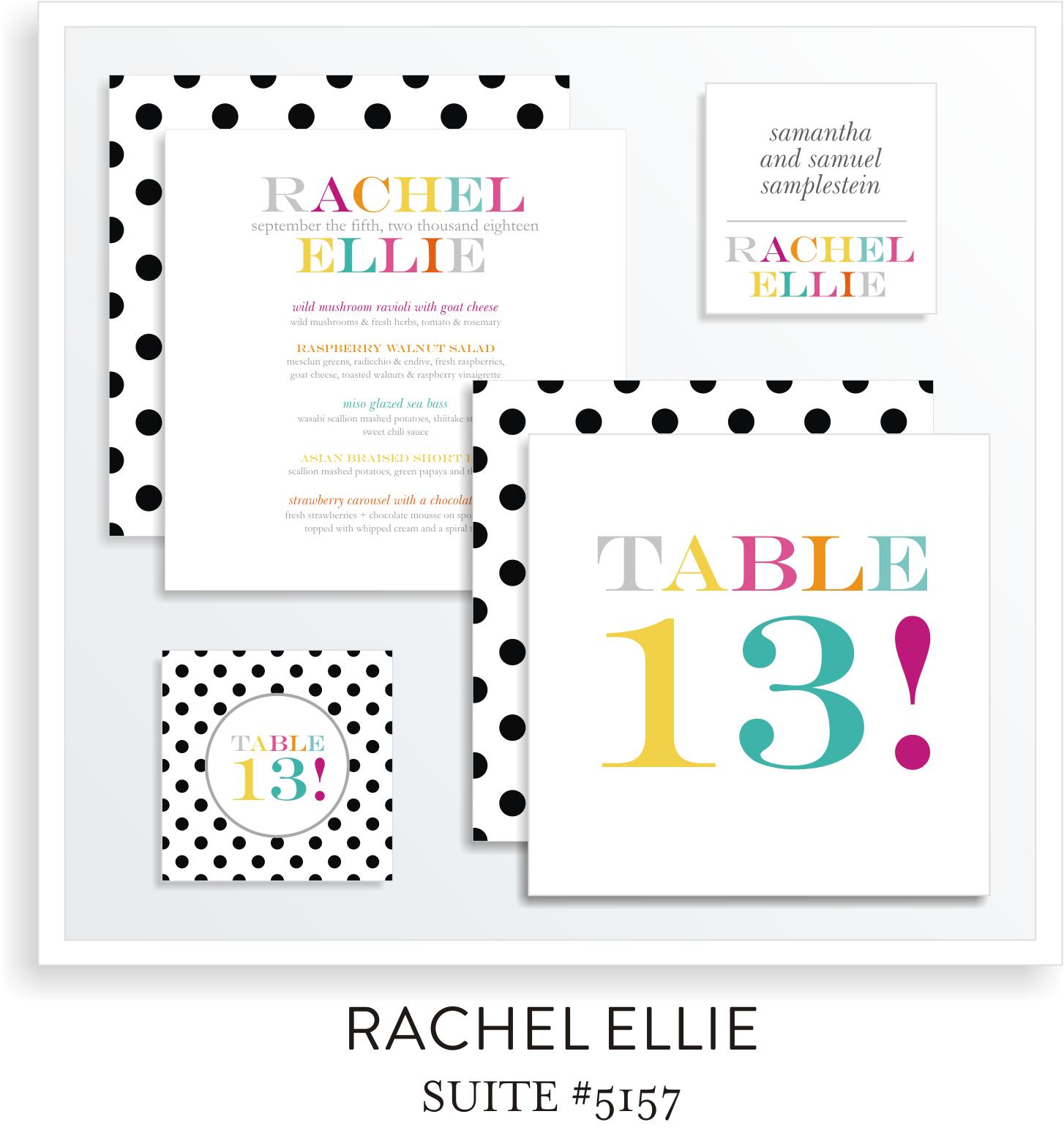 Table Top Decor Suite 5157 - Rachel Ellie