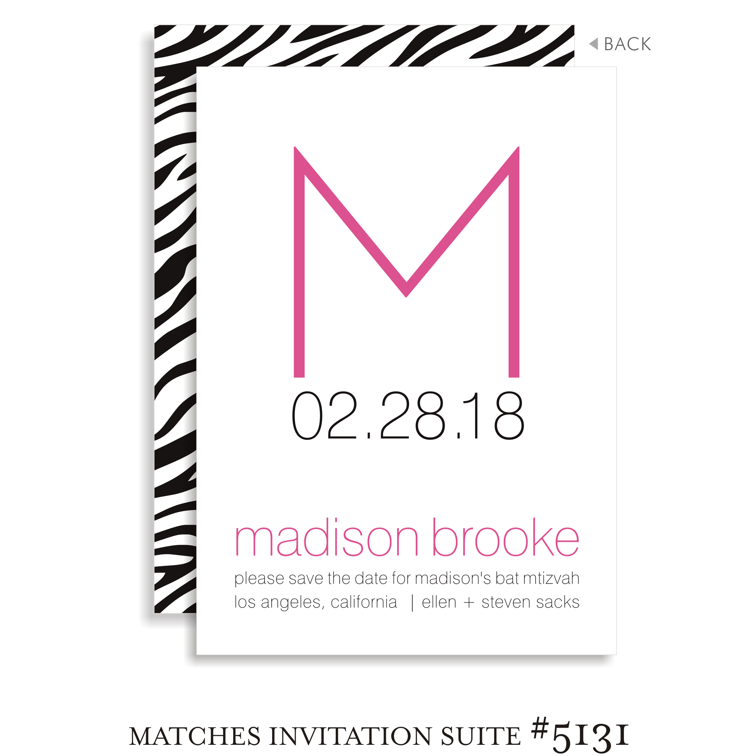 Save the Date Suite 5131 - Madison Brooke