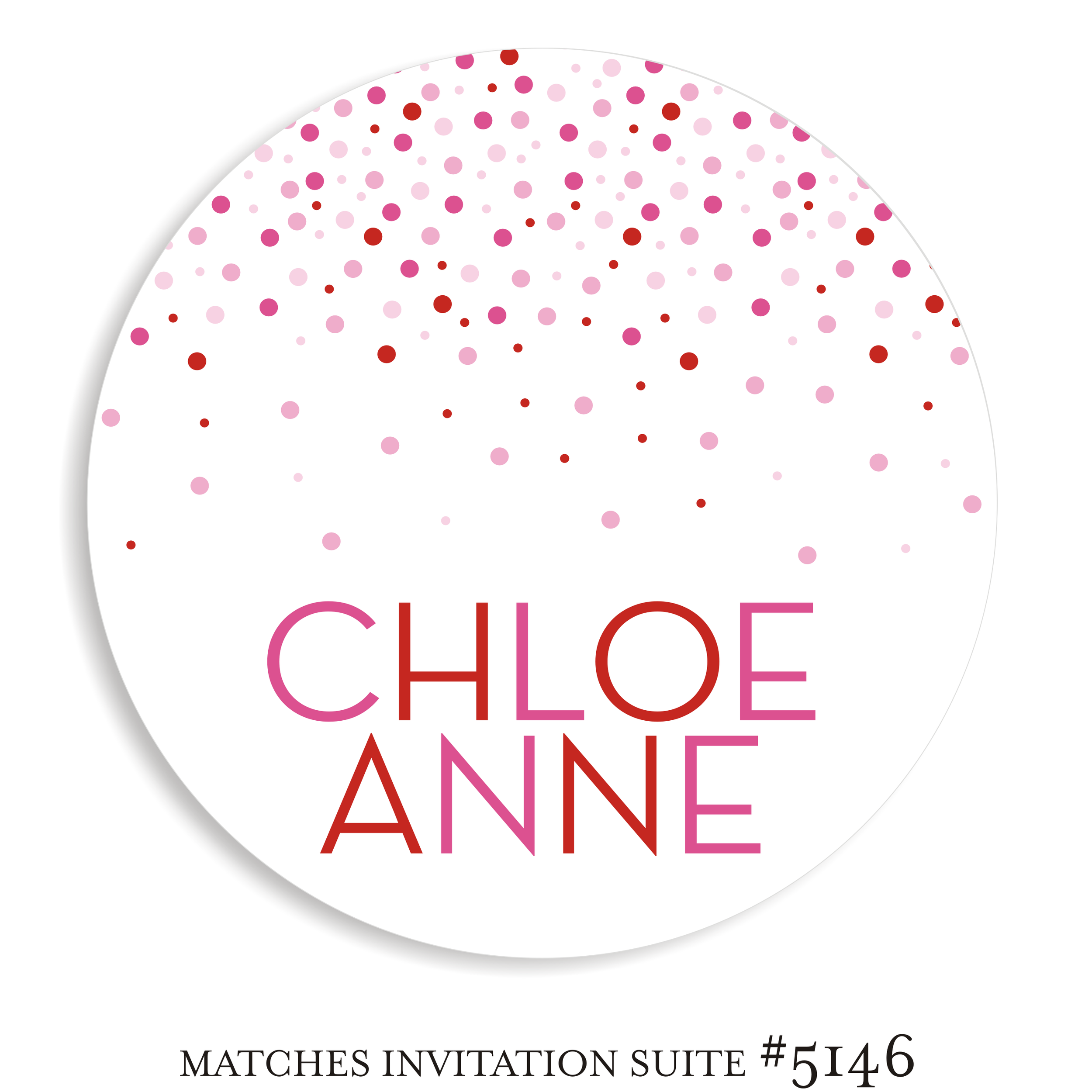 Dancefloor Decal Bat Mitzvah Suite 5146 - Chloe Anne