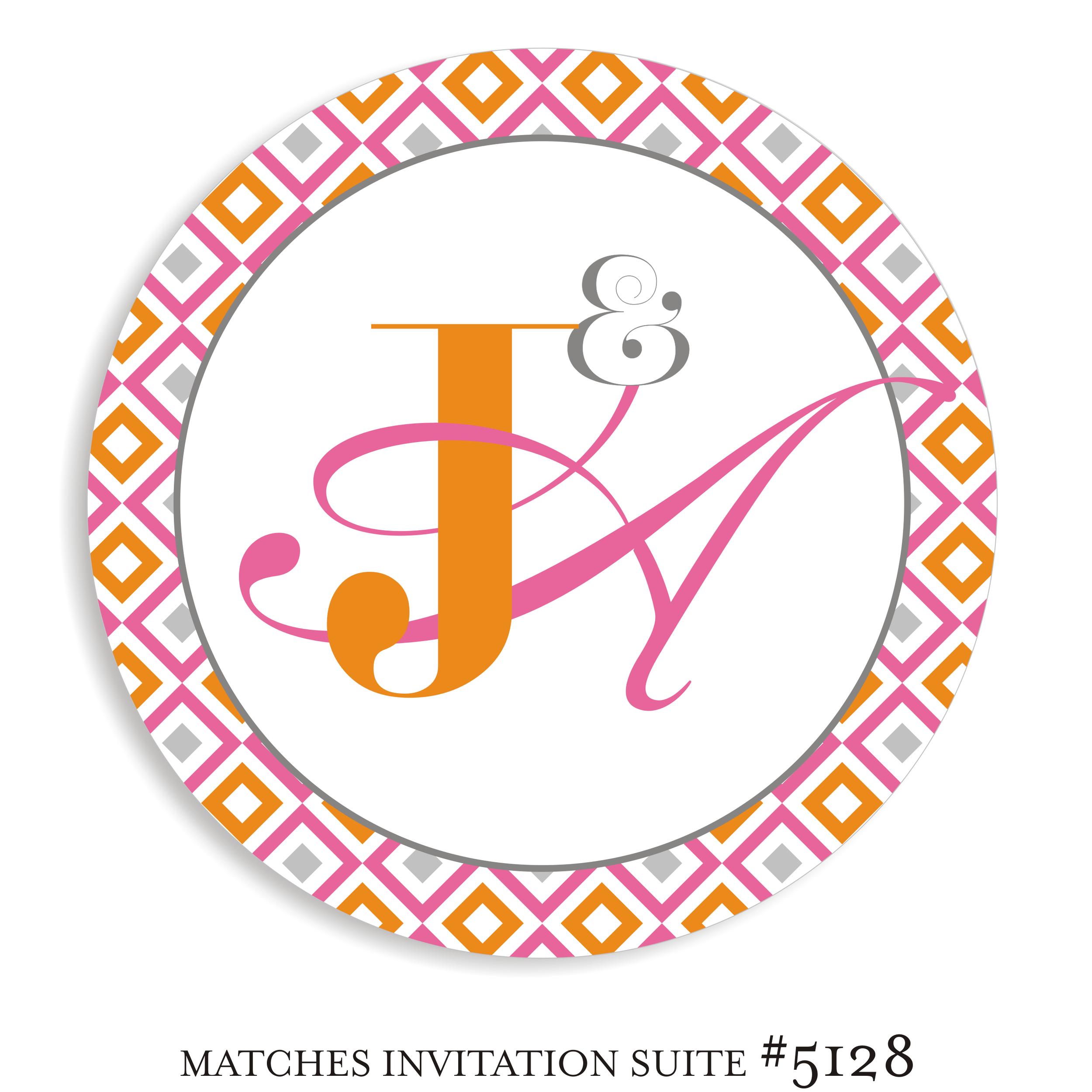 Dancefloor Decal B'not Mitzvah Suite 5128 - Jennifer & Alexandra