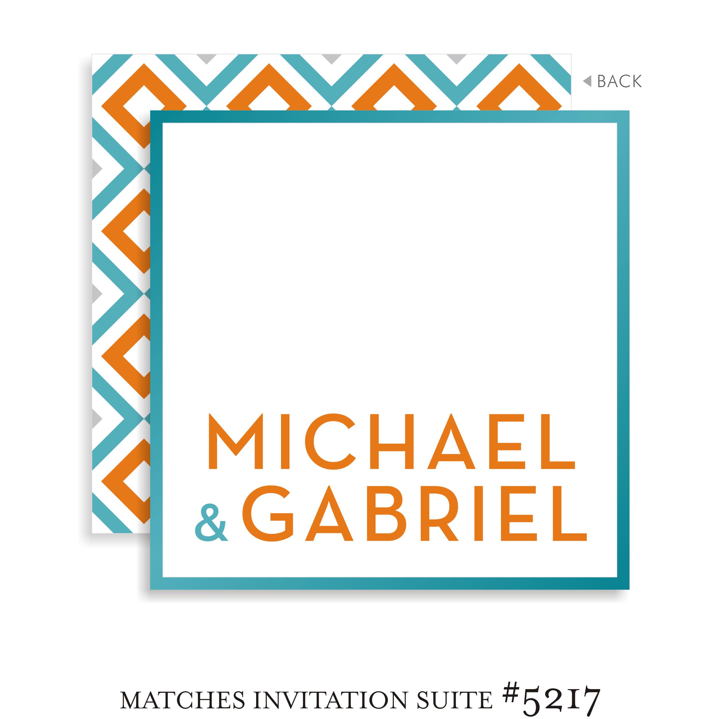 Bar Mitzvah Sign In Board 5217 - Michael Gabriel