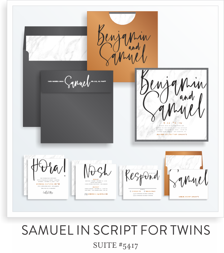 SARAH SCHWARTZ BAR MITZVAH INVITATION SUITE 5417 FOR TWINS.png
