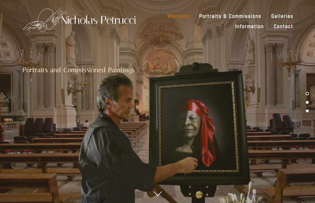 Nicholas Petrucci, Portraits and Commissioned Paintings