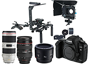 Camera operator / Steady Cam /  Photographer with 5D Markii    - BASE PACKAGE INCLUDES:          - 5D Markii ( With Magic Lantern )         - Canon 24-70mm F2.8         - Canon 70- 200mm F2.8         - Canon 50mm 1.8         - CF Cards ( 16GB x2 )         - Batteries ( 10 )         - Tripod         - Steady Cam / Flyer Cam         - Rig, Follow Focus, Matte Box         - Lap Top  Day: $350.00     Week: $980.00   Month: $3,500.00    -Add Behind the Scenes Camera wi  th operator ( Canon 60D )         Day: $250.00    Week: $680.00    Month: $2,500.00