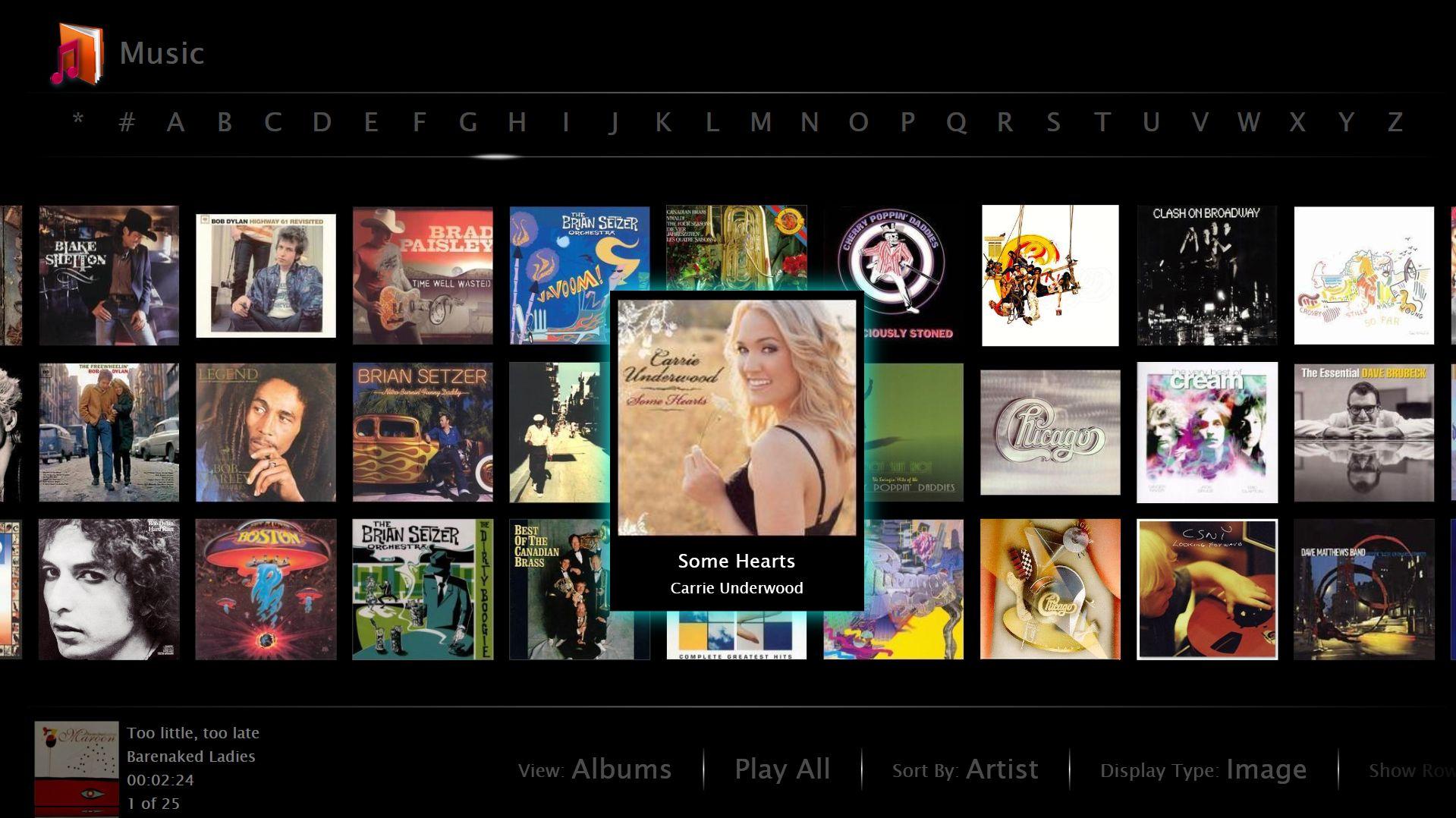 MusicLibrary3RowsView.JPG