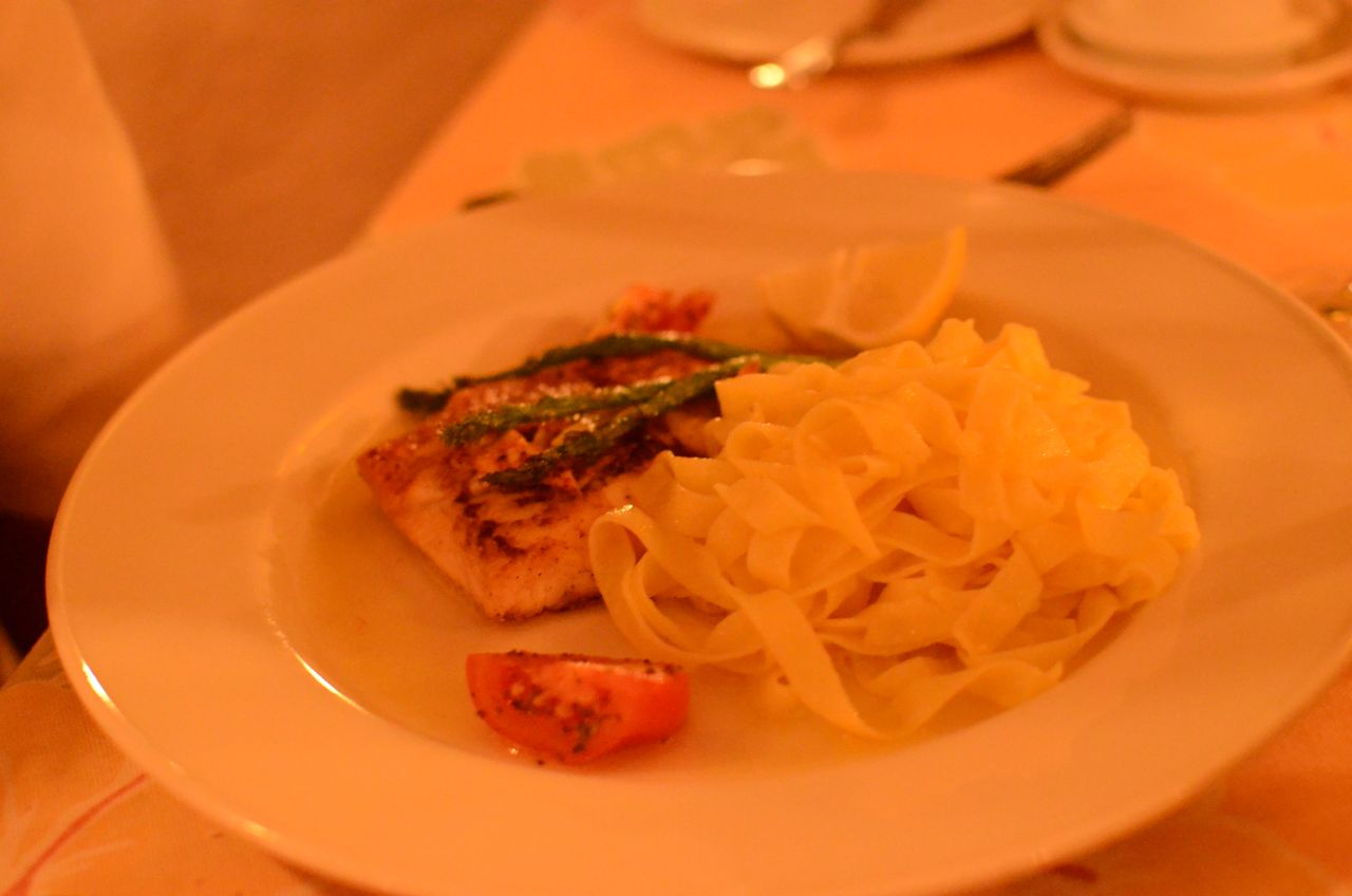 Children's Portion of Fish and Pasta
