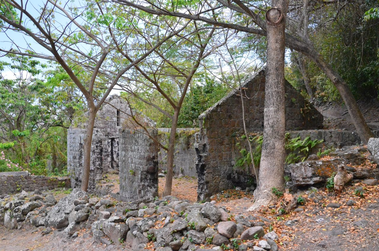 Ruins at Golden Rock