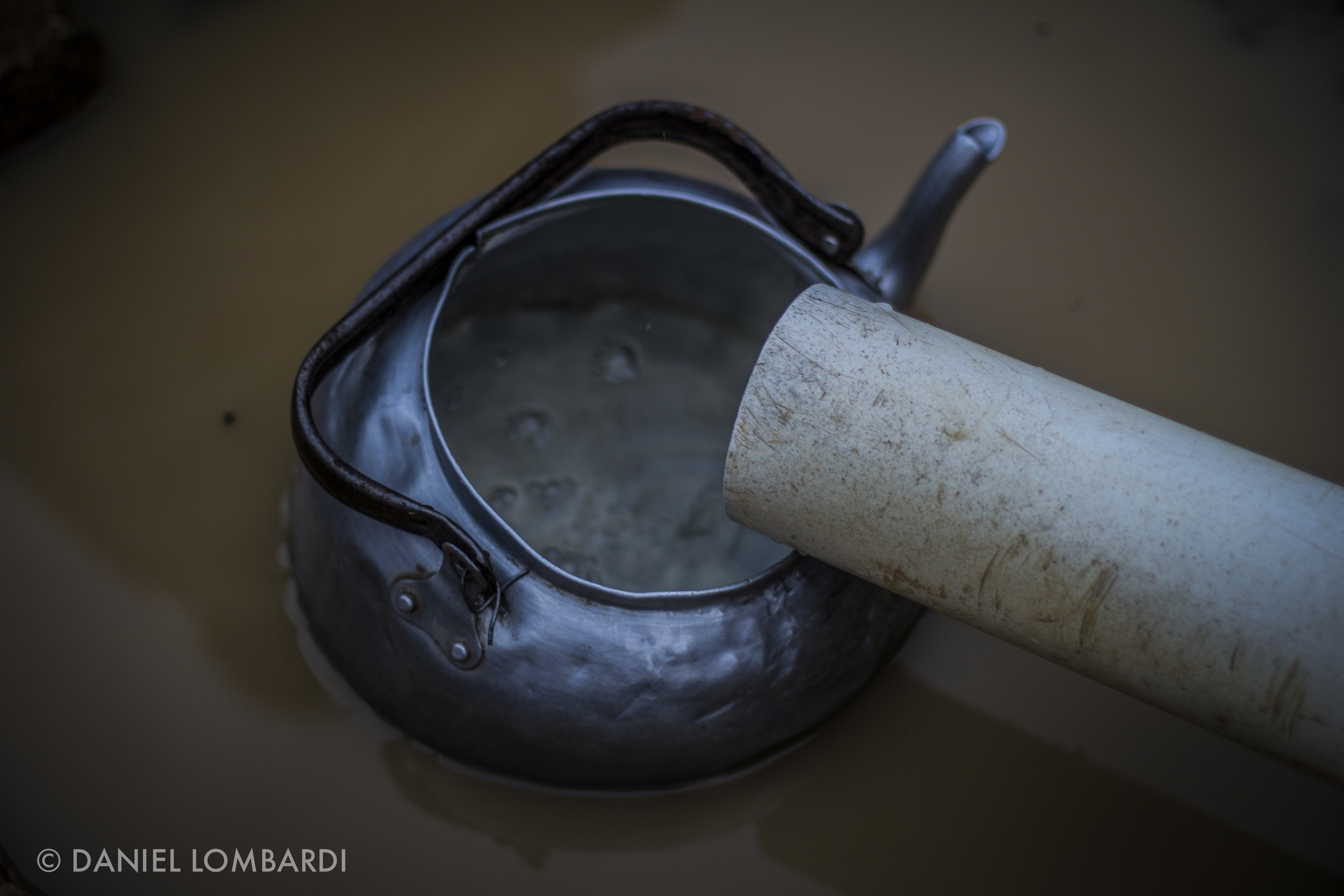 There are 1.6 million deaths per year attributed to dirty water and poor sanitation. Early every morning a woman waits several minutes for her teapot to fill then she pours the kettle into her jerrycans. The whole process takes her around five hours every day.