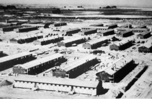 Internment camp at Rohwer, Arkansa for Japanese-Americans (1942)