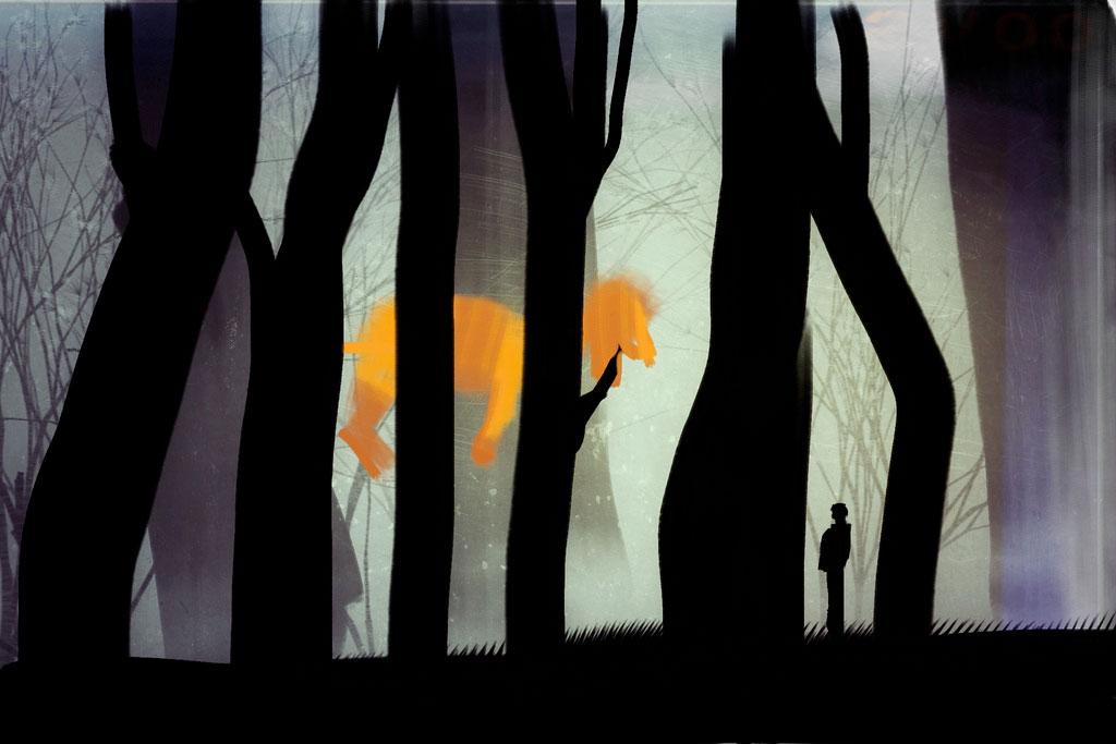 Orange Dog Artwork