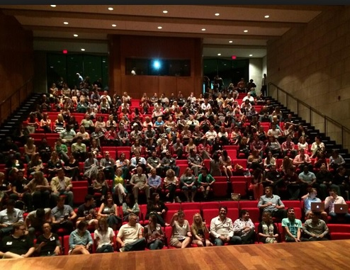 The audience at the opening session at GASCAN.