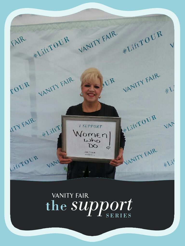 Vanity Fair photos taken - for women who do.