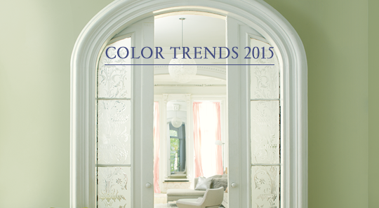 benjamin moore's color of the year is guilford green