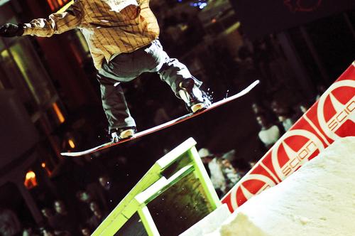 Urban Snowboard Rail Jam Events