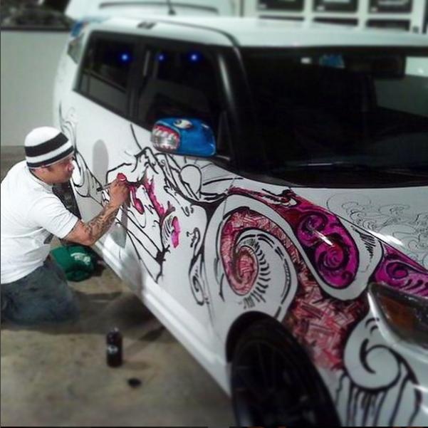 Scion Art Cars
