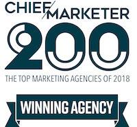 Chief Marketer 200 Agency Winner
