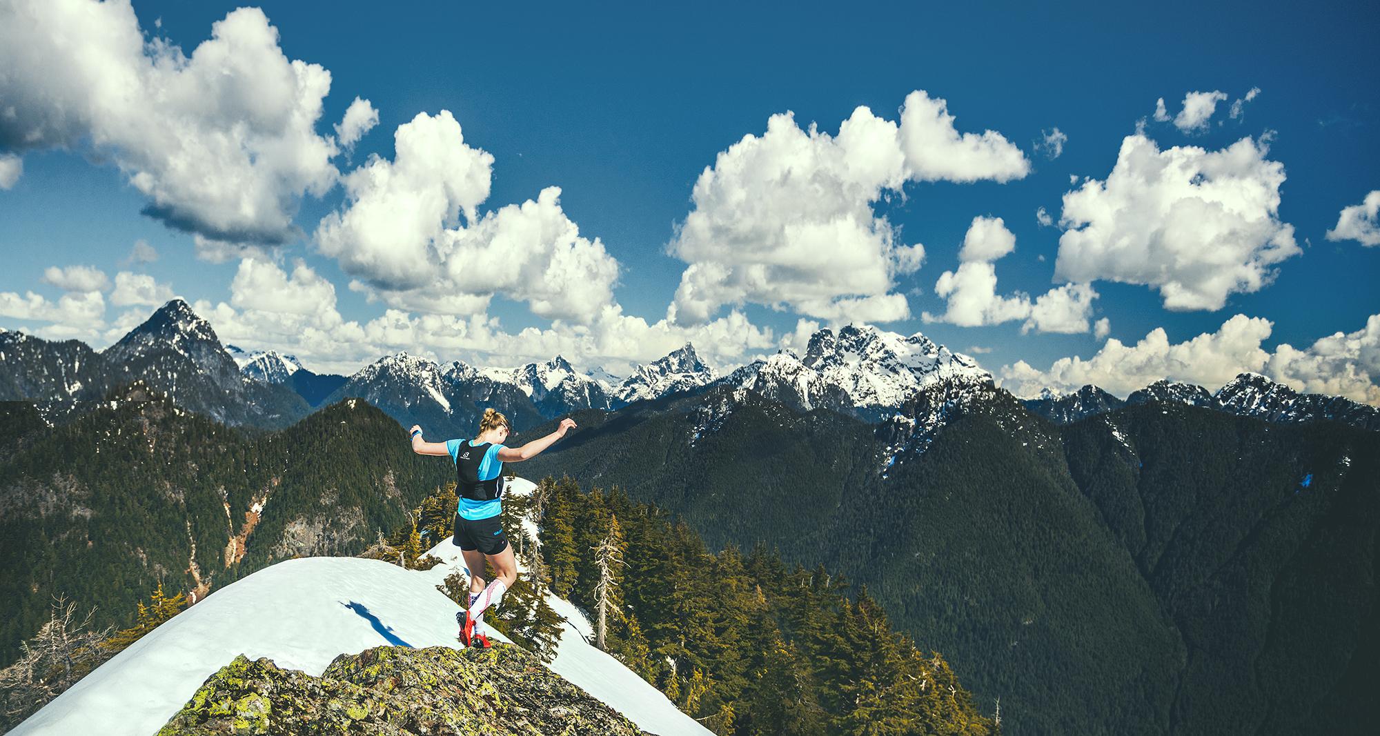 Freya Orban - Salomon Young Gun Athlete by Brice Ferre Studio - Vancouver Adventure Photographer