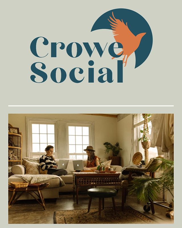 My first designed website is live! Thank you @crowesocial for being a great friend, business partner, and first client to help launch my new business! I've enjoyed this collaborative process and can't wait to work together again! She even requested a partner page and is featuring my services!! 🖤 —————————————————— #crowesocial #websitedesign #webdesign #webdesigner #squarespacedesigner #live #bossbabe #smallbusiness #creativeprenuer #creativeprocess