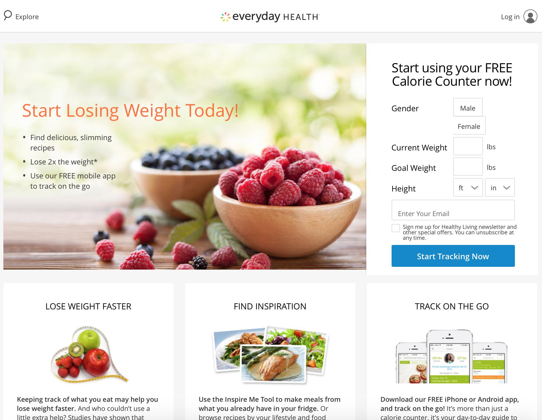 EH Calorie Counter