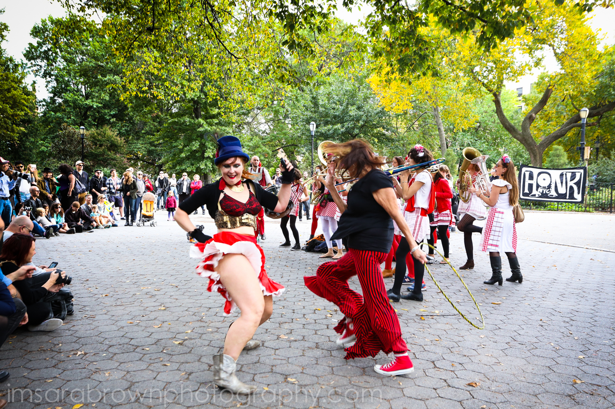 CLICK HERE TO VIEW AND DOWNLOAD PHOTOS FROM TOMPKINS SQUARE PARK HONK! FESTIVAL 10-18-14    http://sarabrown.smugmug.com/Photo-Dancer-sez-Come-Da/i-svrNcjs