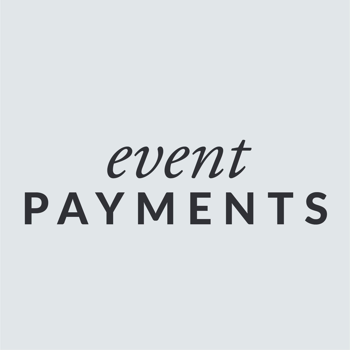 For PAYMENTS toward   any event   hosted by AGK Ministry Network or an AGK sponsored ministry.