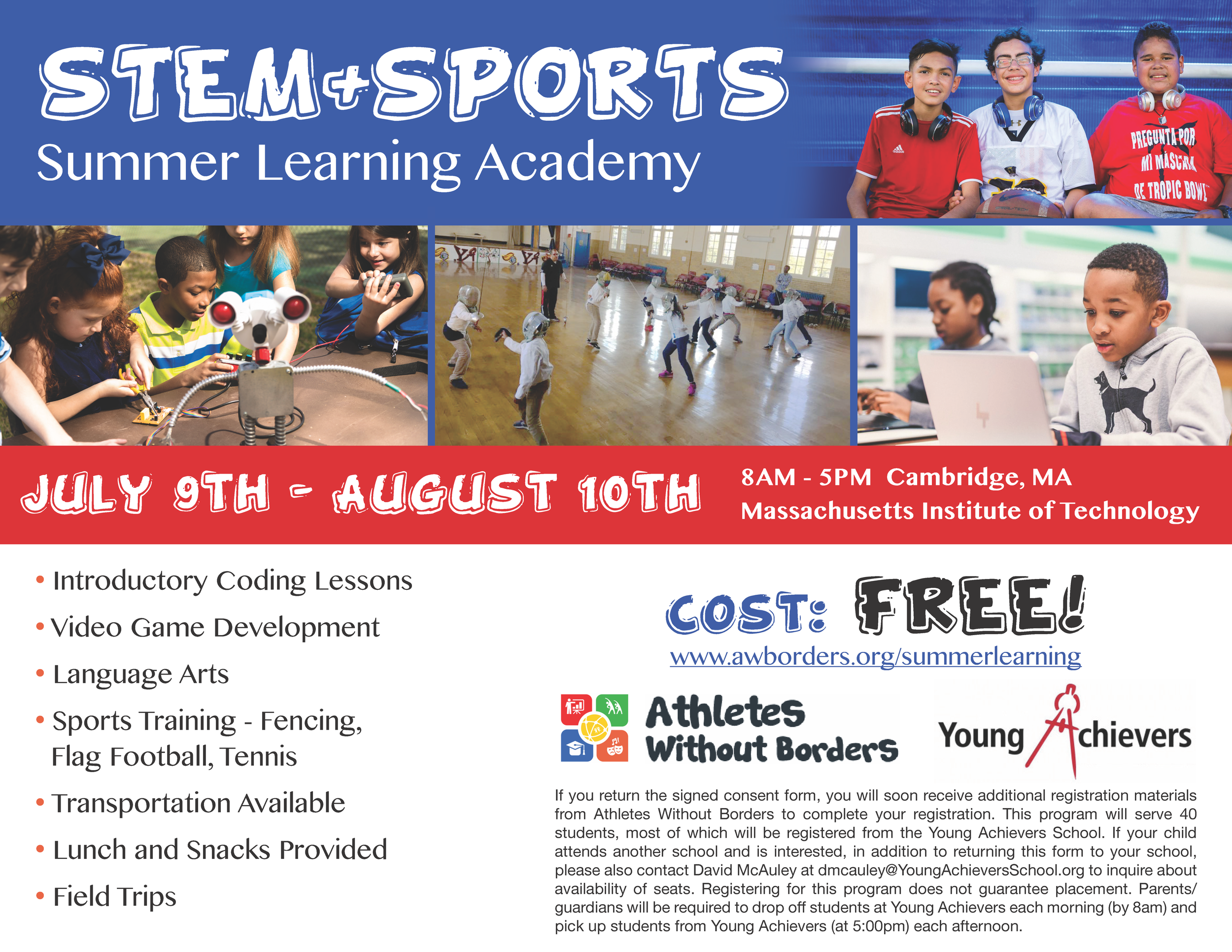 YA-AWB Summer Learning Academy