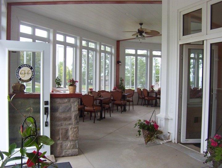 Gazebo Restaurant at Waupoos Estates Winery