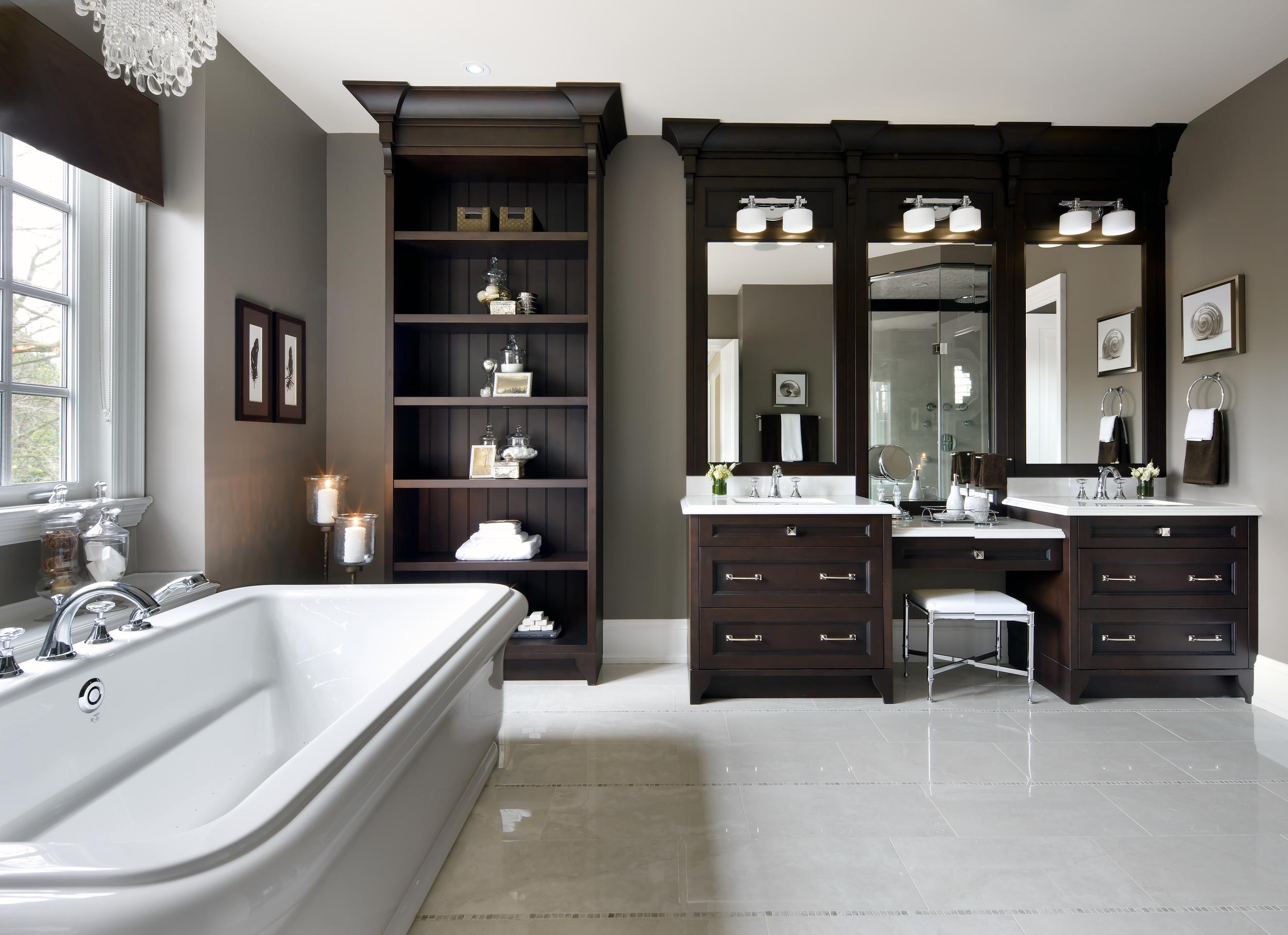 Kylemore Bathroom designed by Jane Lockhart