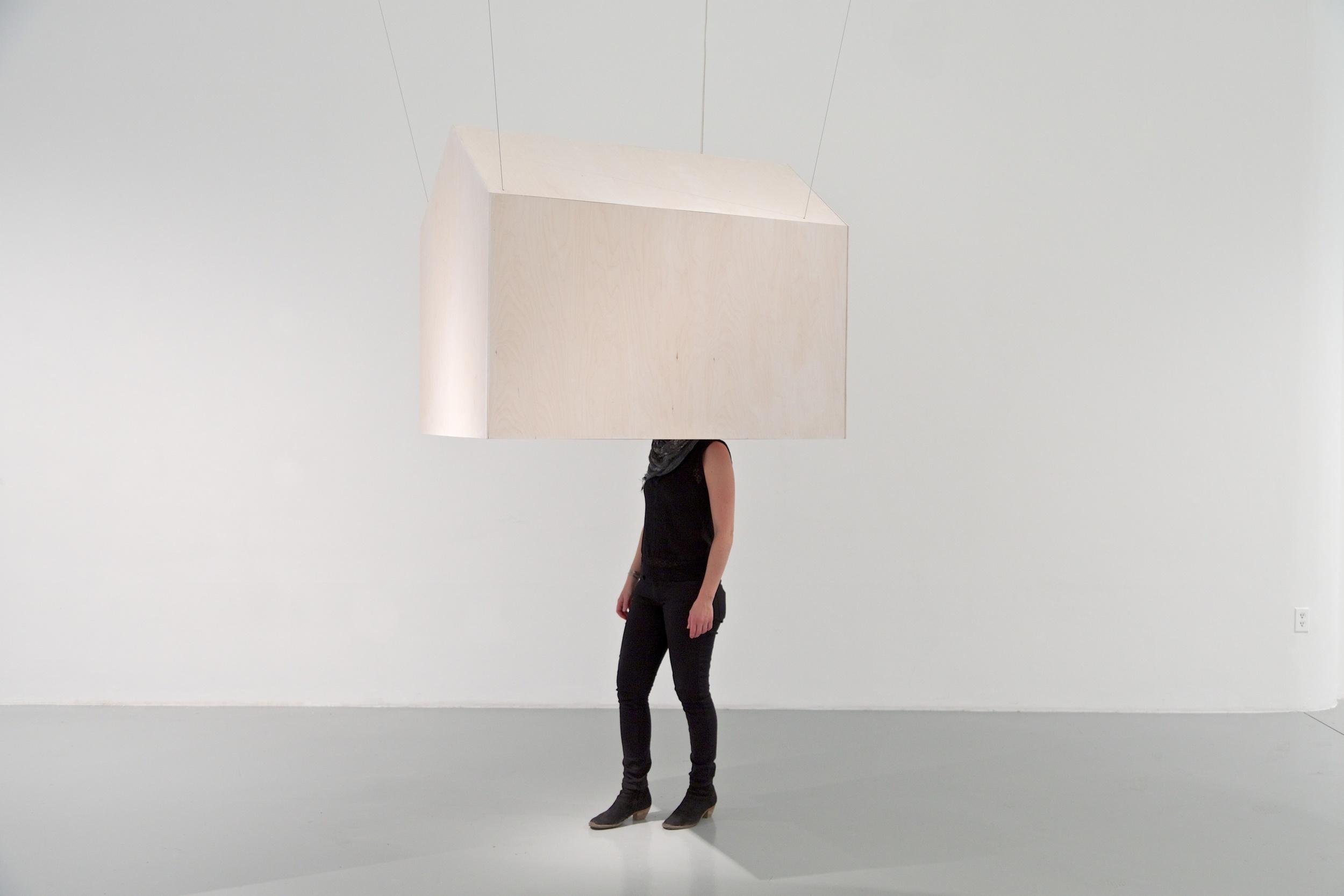 Voluntary Confinement: House.  2014 [immersive sculpture]