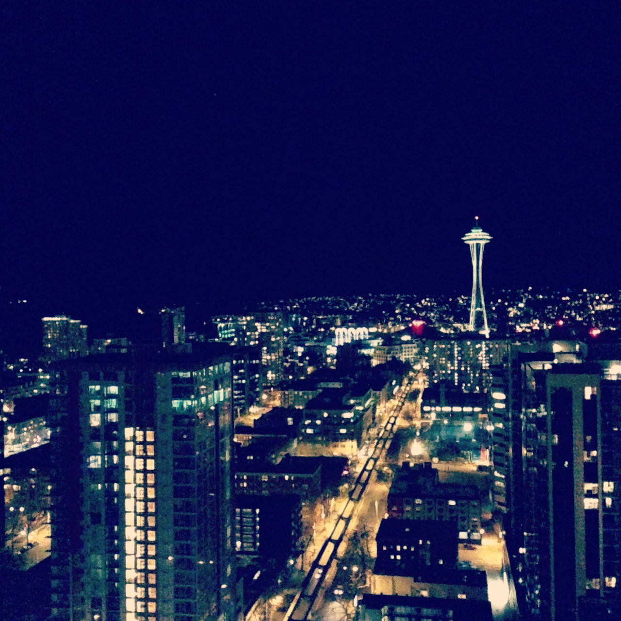 The Space Needle from my hotel room