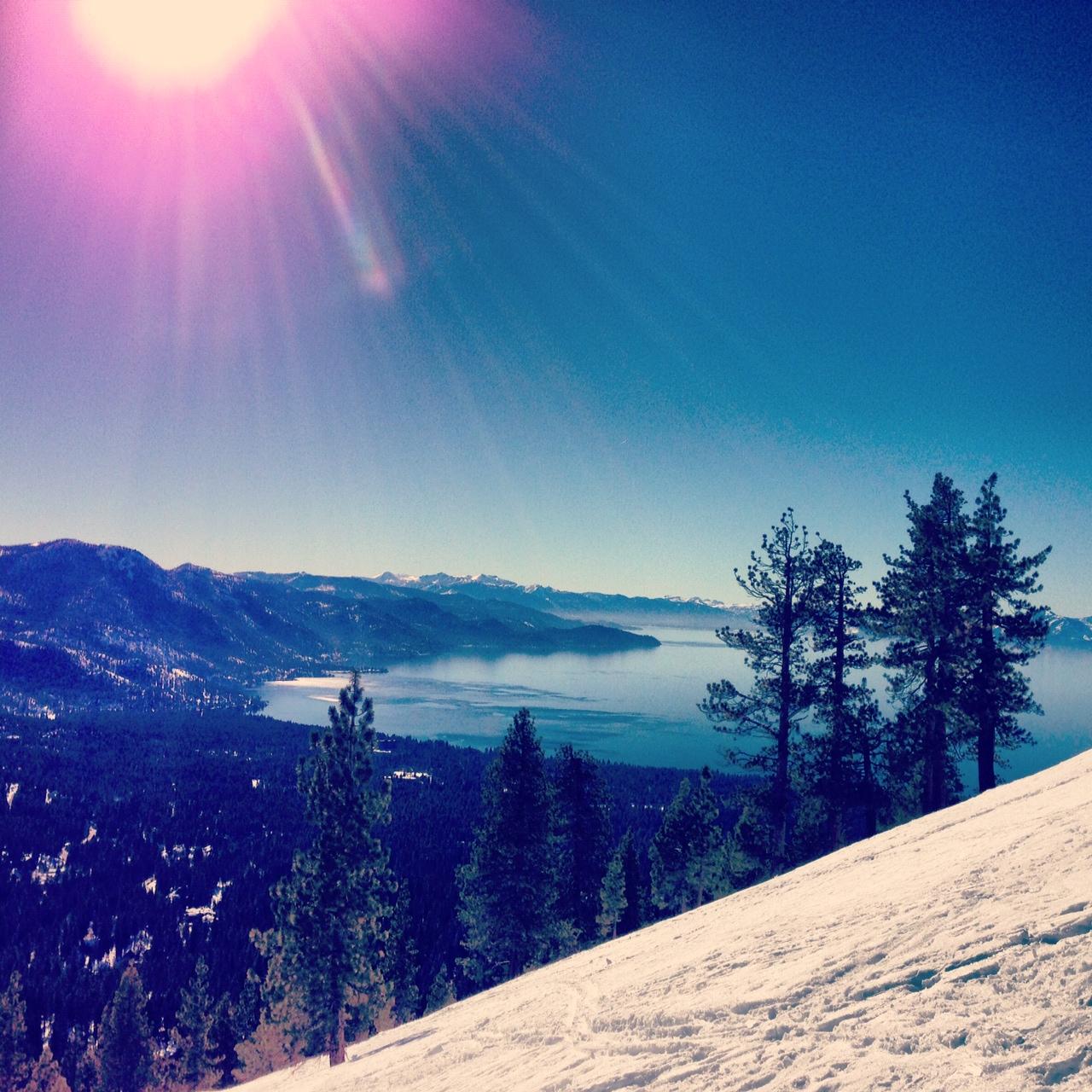 My first backcountry ski trip!
