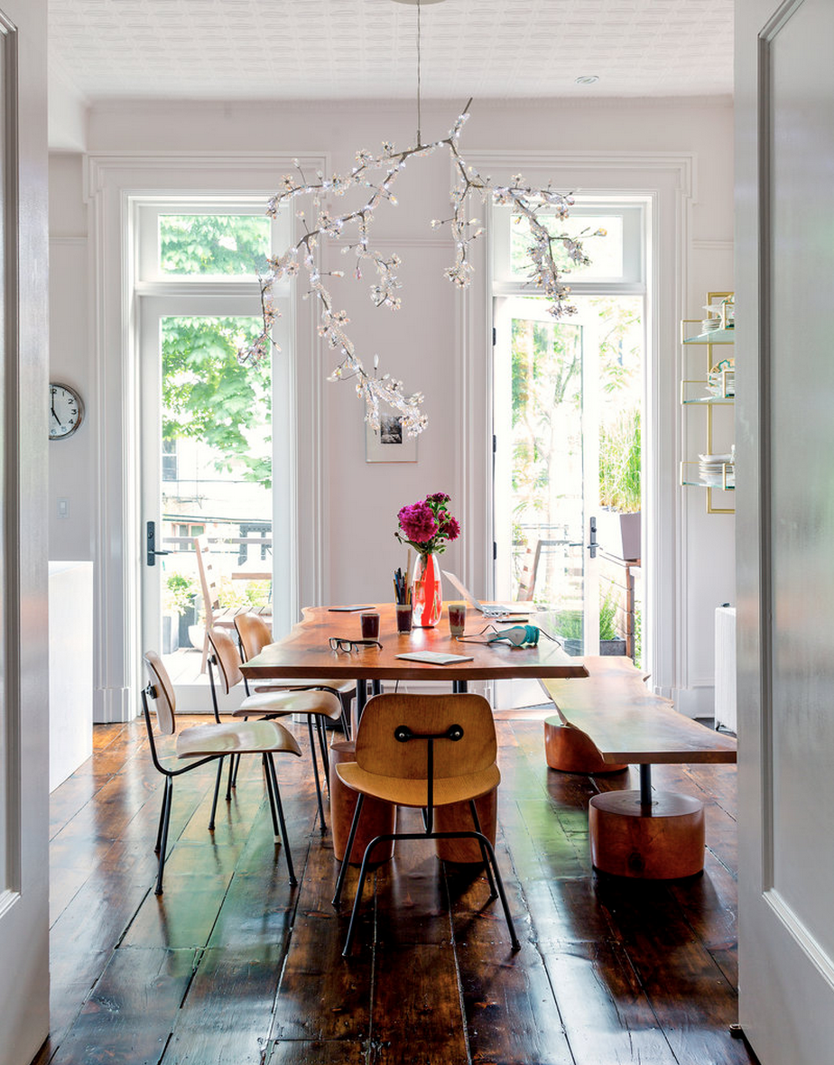 Mike Diamond and Tamra Davis' Brooklyn town house. Photography by Trevor Tondro for The New York Times.