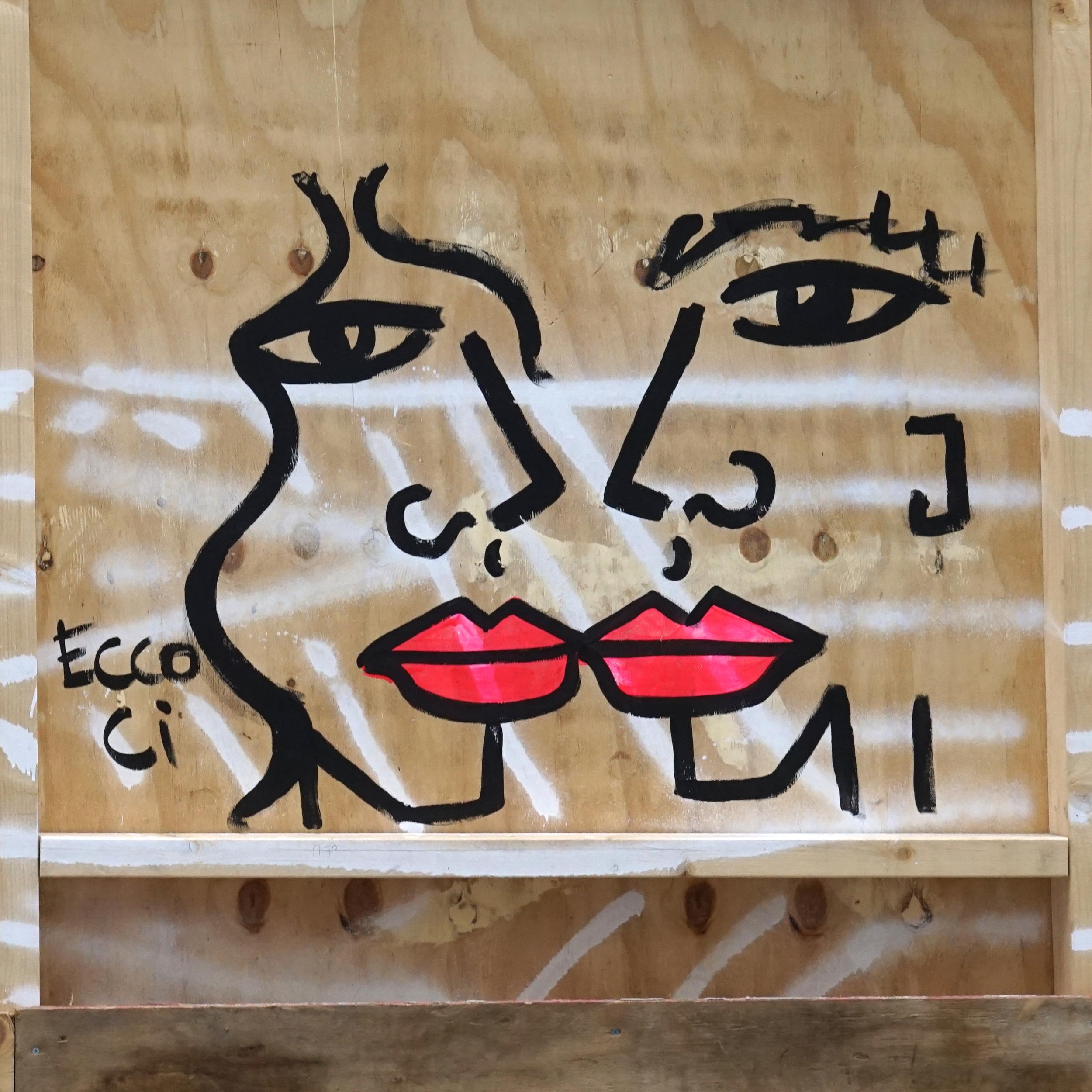 A team event touring Shoreditch street art