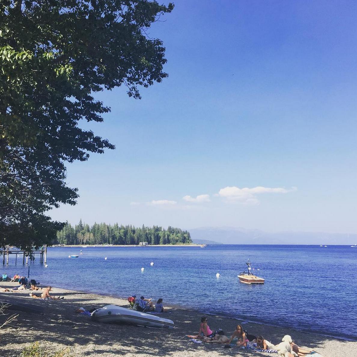 Mellow days on Lake Tahoe