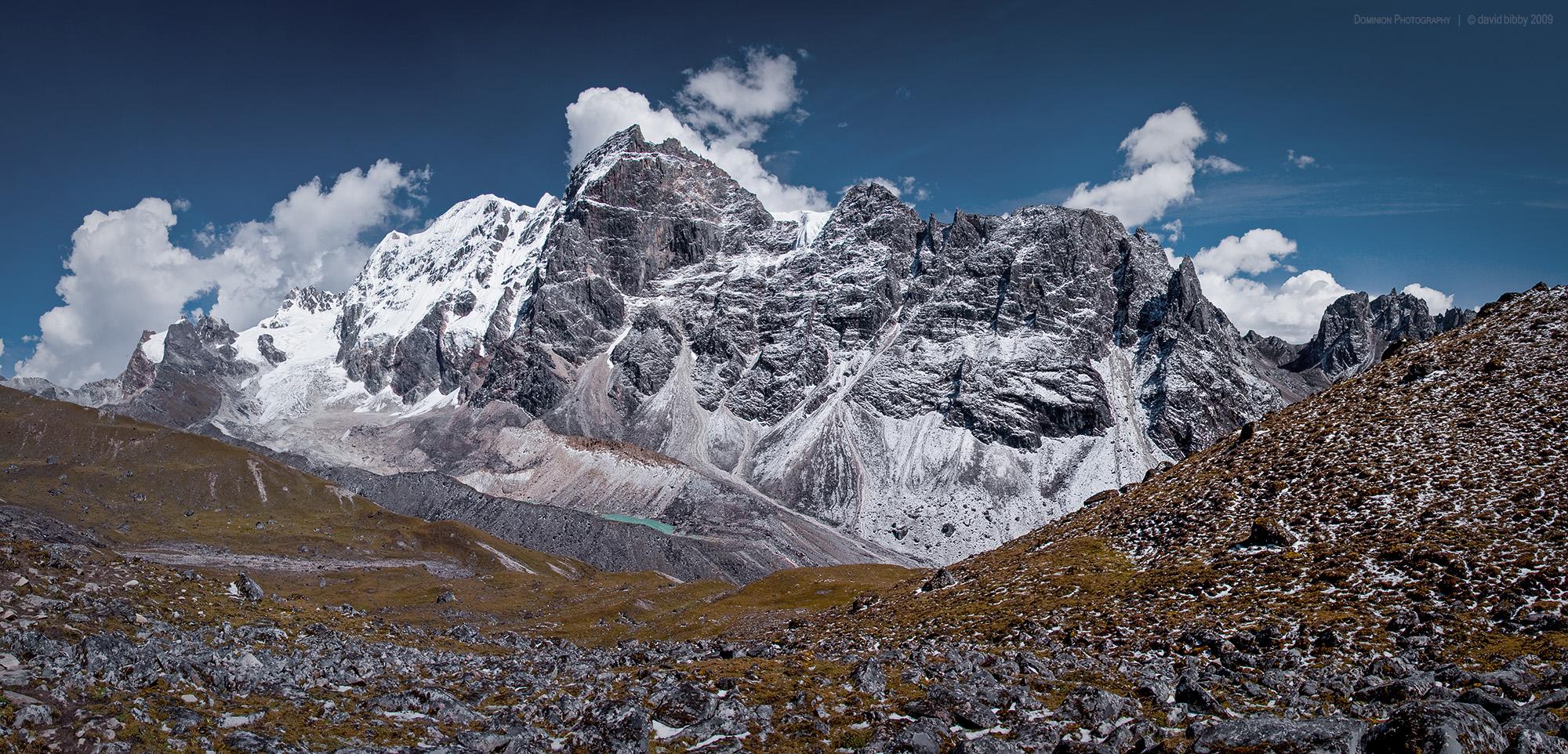 Gangla Karchung  - 6395m, Snowman Trek.