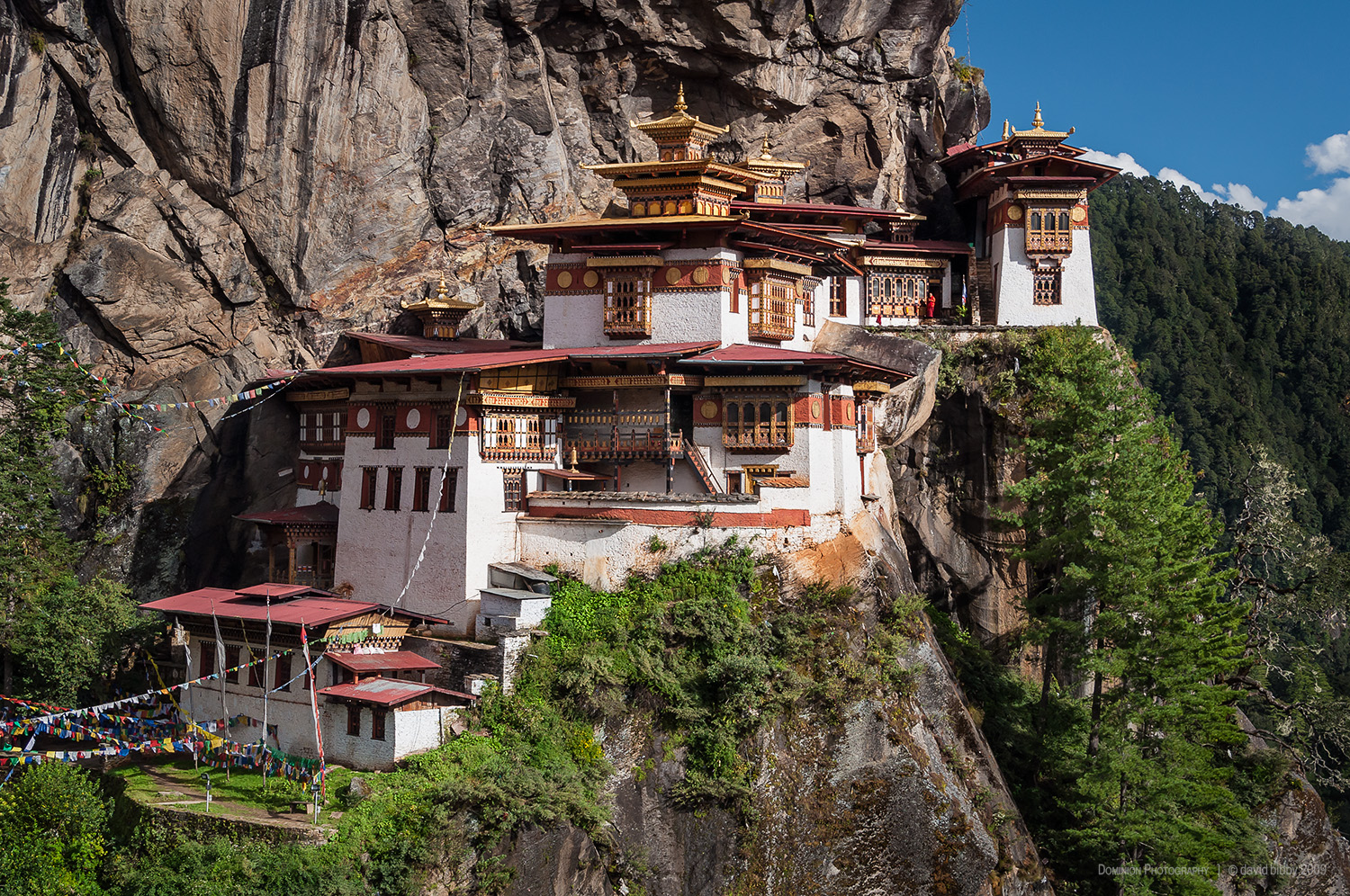 Taktsang  - The Tiger's Nest Monastery.