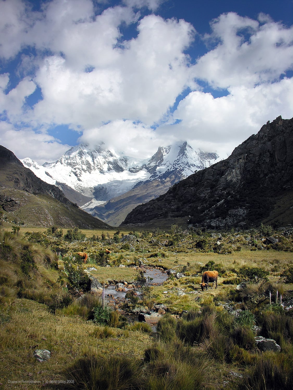 Huascaran National Park. Cordillera Blanca, Peru.