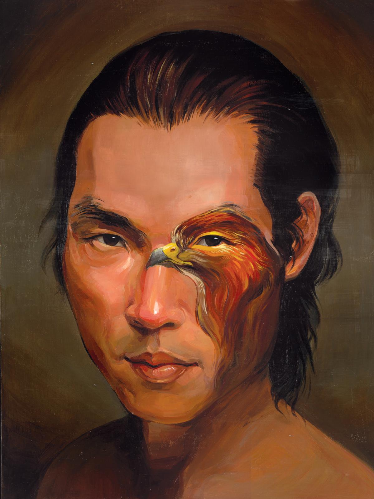 Double Vision, Portrait of Bo
